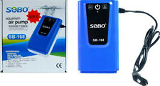 Sobo SB-168 | Latest Design & High Quality Air Aquarium Pump with Double outlet