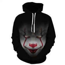 22a4963469a7 3D Graphic Print Couple Mens Womens Hoodie Sweatshirt Hooded Pullover  Casual Top