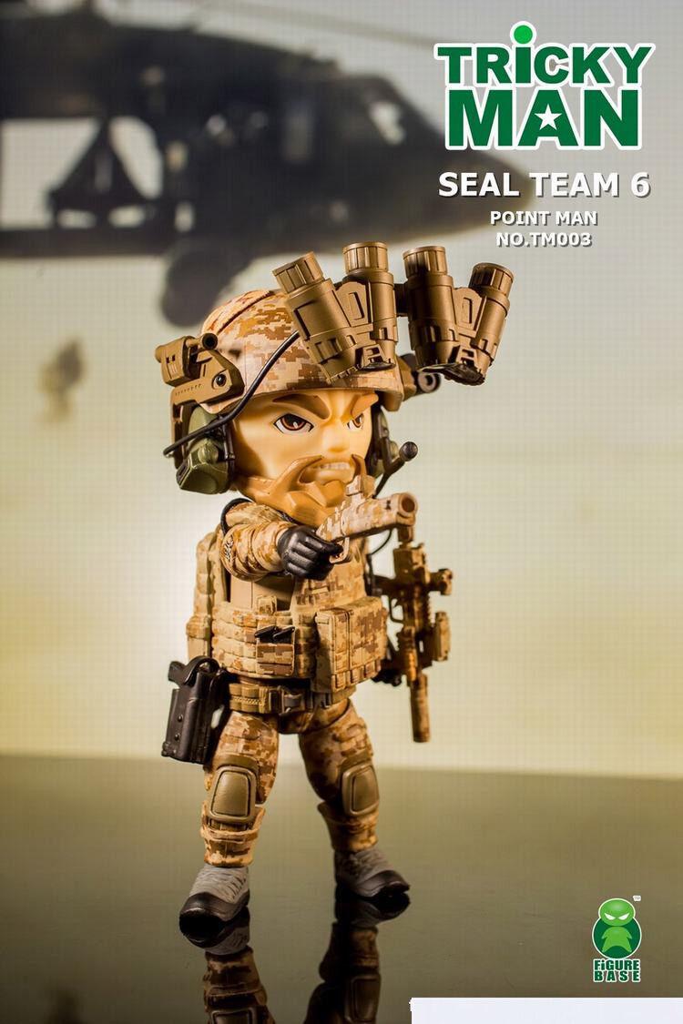 Figurabase TM003 trickyman Seal Team 6 Pointman 5  Mini Figura Personalizada
