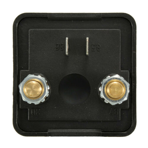 1PC 4 Terminals 12V 120A Heavy Duty Split Charge ON//OFF Relay for Car//Van//Boat
