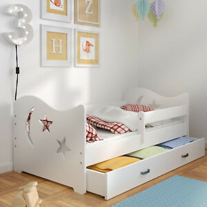 bett jugendbett kinderbett babybett mit bettkasten und bettgestell 160x80 ebay. Black Bedroom Furniture Sets. Home Design Ideas