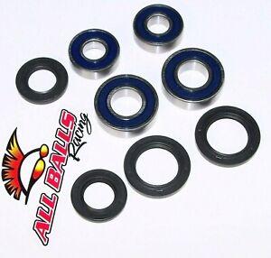New All Balls Racing Wheel Bearing Kit KFX400 03-06 upgrade 25-1635 For Kawasaki KFX 700 V-Force 04-09 2004 2005 2006 2007 2008 2009 KFX450R 08-13 2008 2009 2010 2011 2012 2013