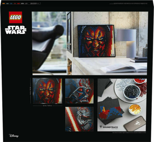 31200 LEGO Art Star Wars The Sith 1 Picture 3 Options 3406 Pieces Age 18