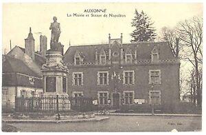 CPA-21-AUXONNE-Cote-d-039-Or-La-Mairie-et-Statue-de-Napoleon