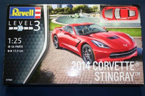 2014 Corvette Stingray C7  Revell Kit 1:25 RV07060 Modellbau
