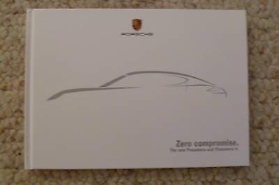 "Awesome L@@K 2010 Porsche Panamera /""Zero Compromise/"" HARDBOUND Brochure RARE!"