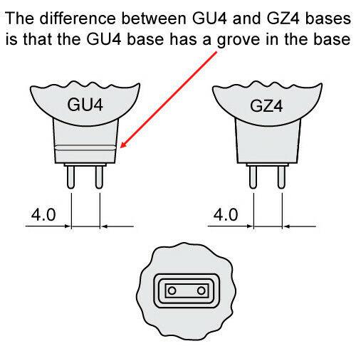 USHIO 12W 12V FTA MR11 GZ4 Halogen Lamp