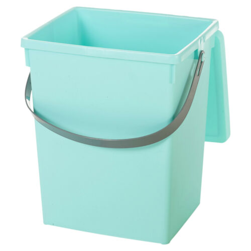 5 Litre Small Table Top Food Recycling Bin Kitchen Worktop Waste Rubbish Peel