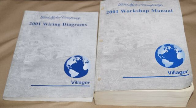 2001 Ford Villager Service Shop Manual   Wiring Diagrams