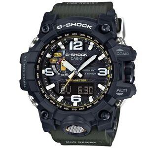 Casio-G-Shock-GWG-1000-1A3-Mudmaster-Black-Mens-Digital-Analog-Watch