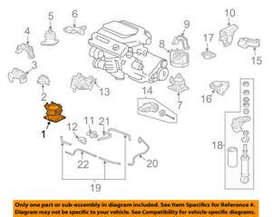 50830SEPA13 Acura OEM 04-08 TL Engine Motor Mount Torque Strut | eBay | Acura Engine Diagram |  | eBay