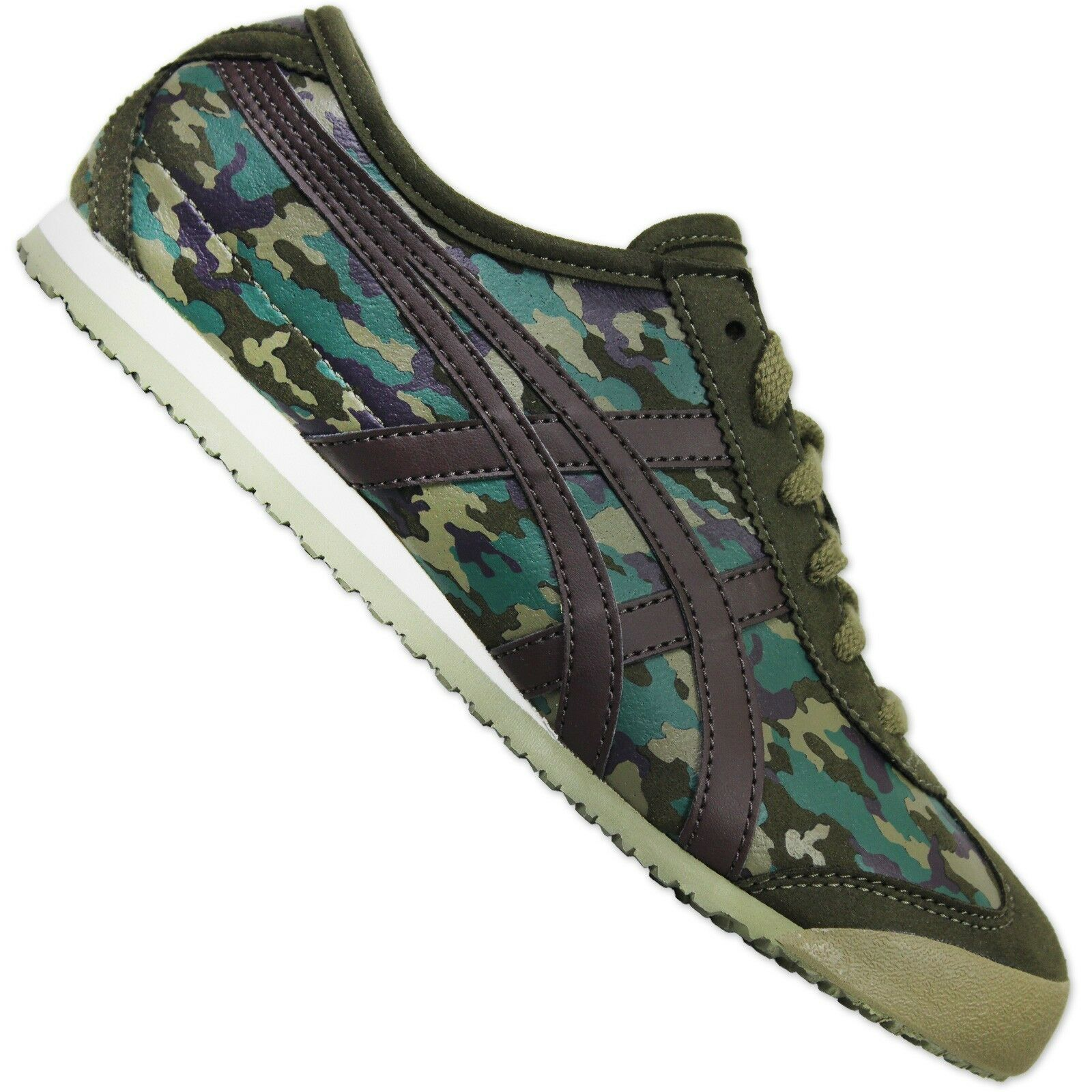 Asics Onitsuka Tigre Mexique 66 Camouflage Militaire