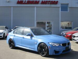 2015 BMW M3 425 HP SEDAN / NAVI / H.U.D / B-CAM / CARBON ROOF