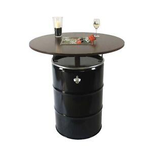 Möbel & Wohnen Tische Nett Partytisch Tondo Stahlfass Als Stehtisch Mit Integriertem Getränkekühler Reinigen Der MundhöHle.