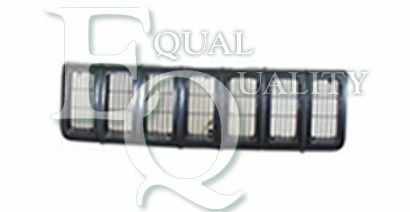 G0976 EQUAL QUALITY Griglia radiatore anteriore nero JEEP CHEROKEE XJ 2.5 i 4x