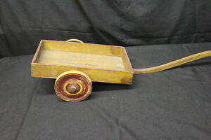 pullalong cart Vintage toy cart nursery decor Toy cart Toys /& Games Push and Pull Toys Wooden Cart Childs Toys Heros cart