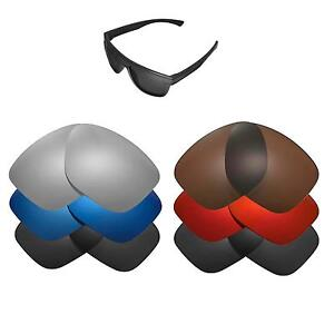 59214281893 Image is loading Walleva-Replacement-Lenses-for-Oakley-Breadbox-Sunglasses -Multiple-