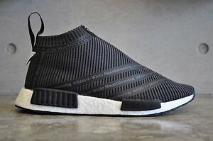 release date ebeeb 79419 Details about Adidas x White Mountaineering NMD CS1 City Sock PK Primeknit  Black