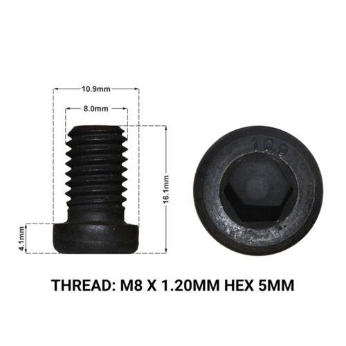 1996/>2003 2 x REAR DISC RETAINING SCREWS DRS1668F BMW 5 SERIES M5 E39