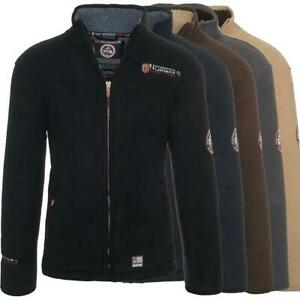 Details about Geographical Norway Men's Fleece Jacket Warm Sweat Jacket Winter Sweater Ureka show original title