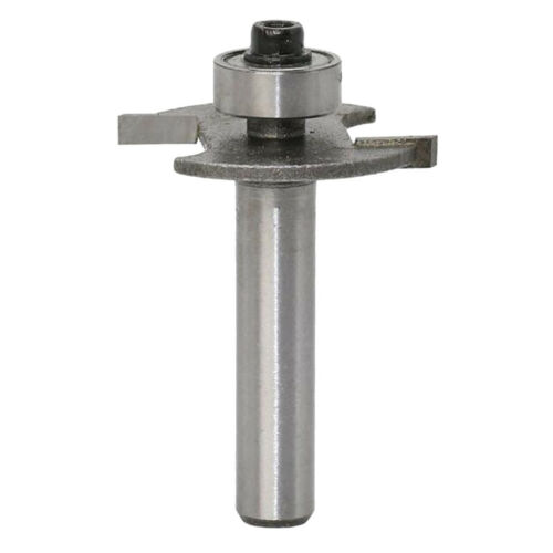 8mm Shank Carbide Biscuit Cutter Router Bit with Top Bearing for Woodworking