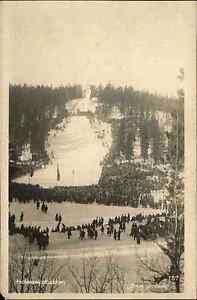 Oslo-Norwegen-Norge-1930-Holmenkollbakken-Skisprungschanze-Sprungschanze-Sport