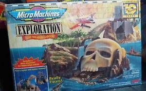 MICROMACHINES MICRO MACHINES EXPLORATION LOST TREASURE LAGOON...NUOVO!! - Italia - MICROMACHINES MICRO MACHINES EXPLORATION LOST TREASURE LAGOON...NUOVO!! - Italia