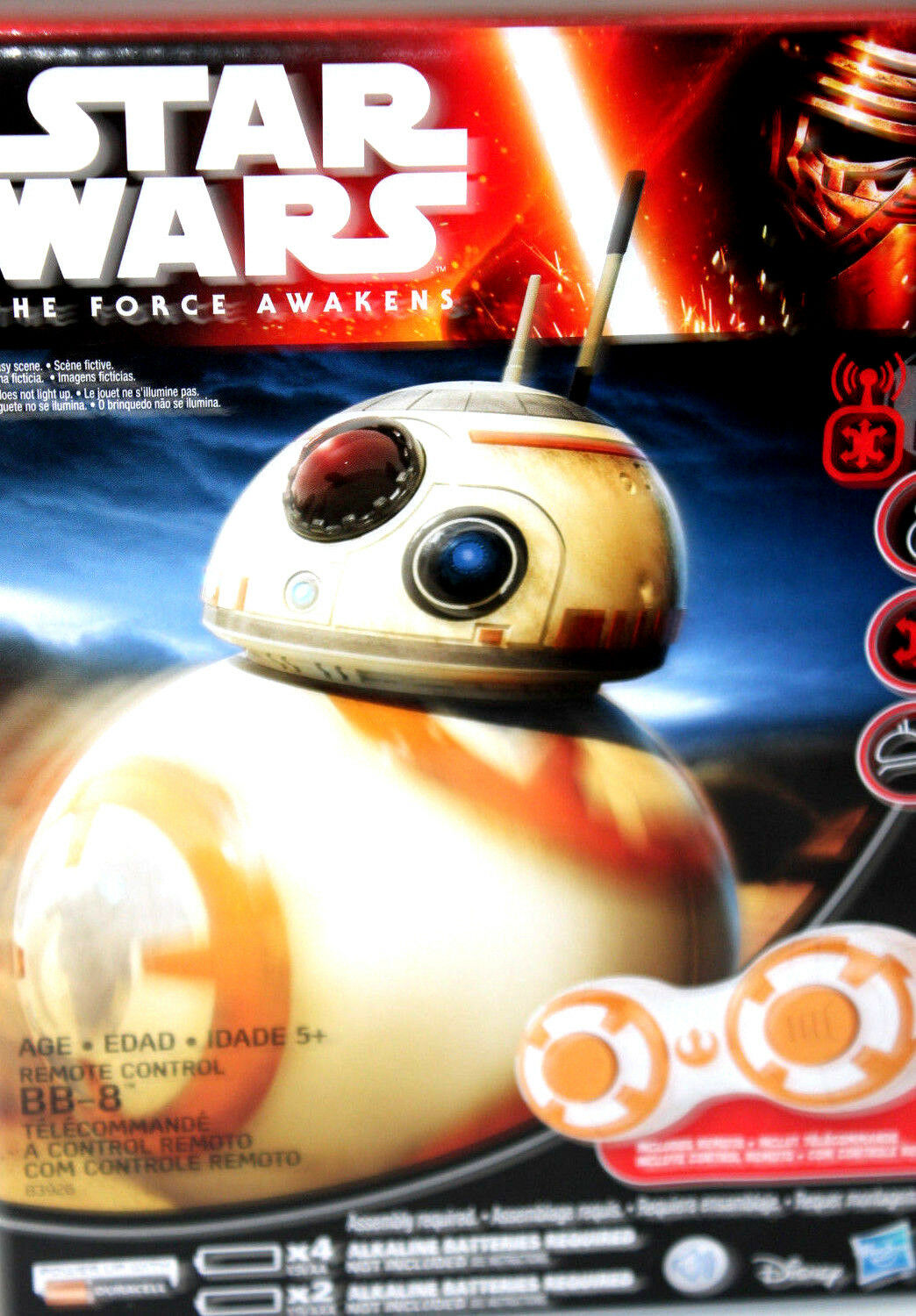 Star Wars The Force Awakens BB-8 Remote Control  Robot