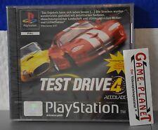 Test Drive 4  OVP in Folie Sony Playstation 1 P1 PSX Pone in Folie NEU BOX NEW