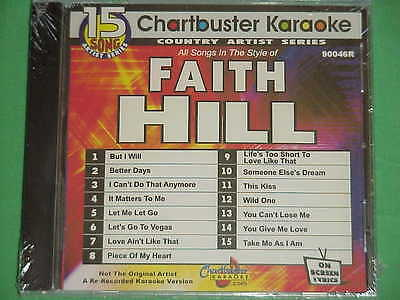 Faith Hill~~Chartbuster Karaoke~90046R~~Life's Too Short to Love Like  That~~CD+G 760217904620 | eBay