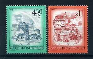 PerséVéRant Autriche - 1976, Timbres 1348/1349, Paysages, Neufs**