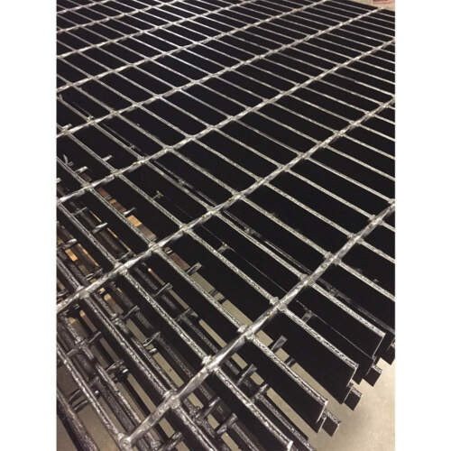 H W,1In DIRECT METALS 20188S100-B4 Bar Grating,Smooth,24In