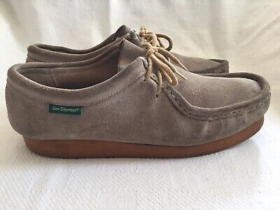 Ben Sherman Wallabee Shoes Sand Suede