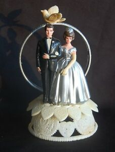 vintage wedding cake toppers ebay vintage wilton 25th silver anniversary wedding cake 21616