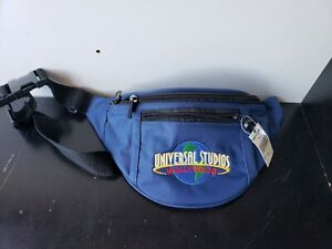 Universal-Studios-Hollywood-Fanny-Pack-Bag-Embroidered-Zippered-Compartments