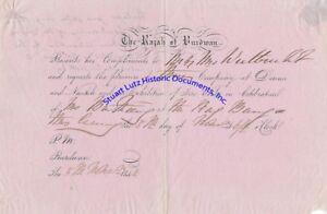 Rajah-of-Burdwan-invitation-for-dinner-amp-fire-works-1846