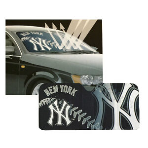 New-MLB-New-York-Yankees-Car-Truck-Windshield-Folding-SunShade-Large-Size