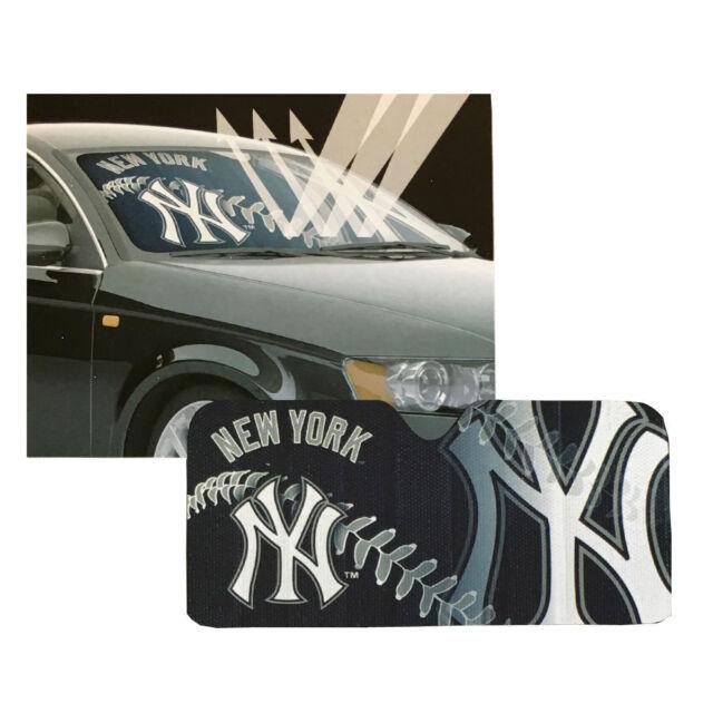 b661c648514 MLB NY Yankees Windshield Front Window Sun Shade Car Auto Accessory ...