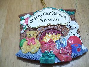 Merry-Christmas-Kristin-Personalize-Fridge-Magnet-Tree-Ornament-Jeane-039-s-Things