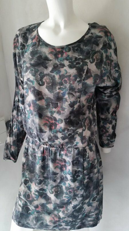 Marc O´Polo schönes Kleid florales Musteri Gr. 38 UVP Euro 159,90NEU