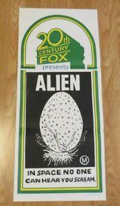 ALIEN-ORIGINAL-1979-STOCK-CINEMA-DAYBILL-FILM-POSTER-SUPER-RARE-Sigourney-Weaver