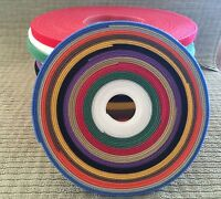 11 Yards Of Thin One Wrap Velcro® For Doll Clothes Or Crafts. 1yd Of Ea Color