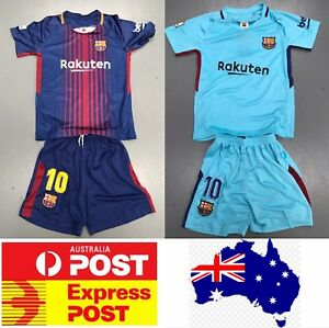 Messi-039-s-Barcelona-Soccer-club-jersey-kids-size-or-adult-size