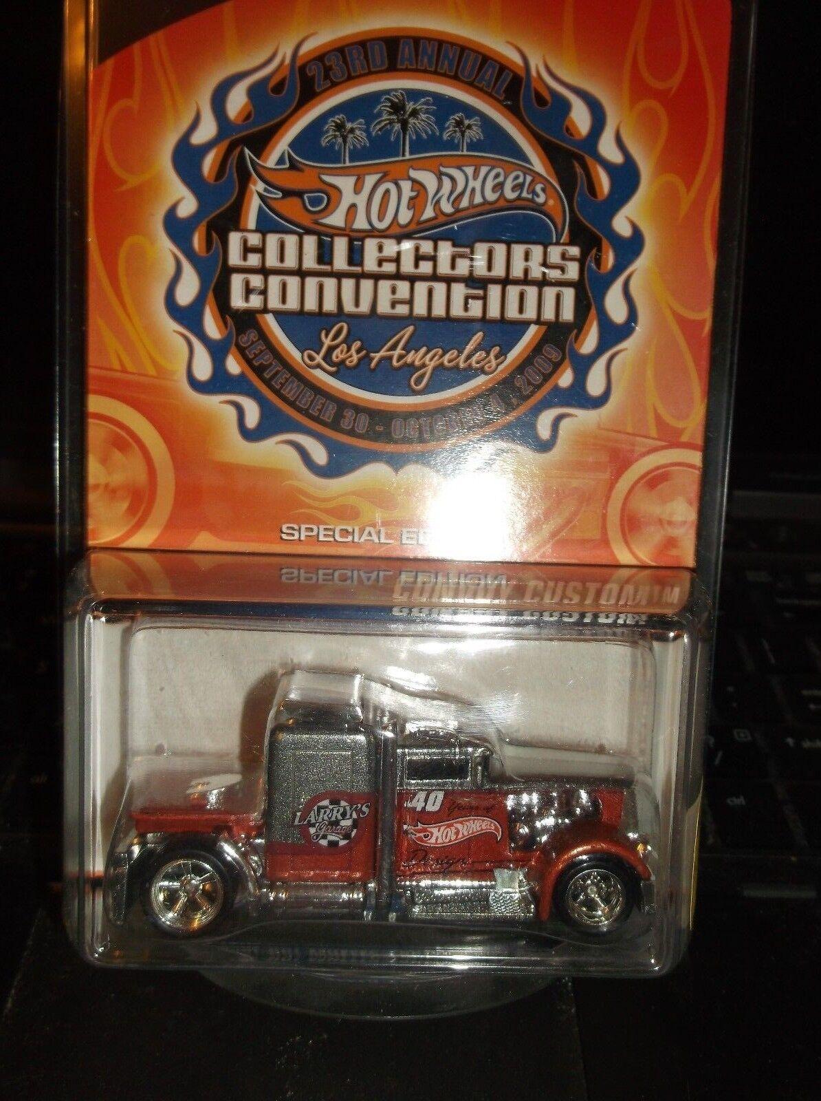Convoy 23RD Convención Hot Wheels Coleccionistas Personalizado
