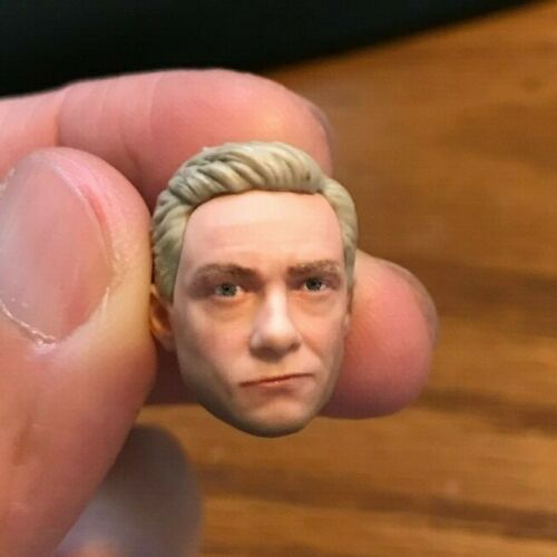 Marvel Legends MCU Everett Ross Head ONLY Great for Customs Black Panther