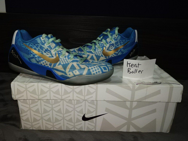 Nike Kobe 9 EM baloncesto bajo híper cobalto nos 8 baloncesto EM Bryant 7c64ba