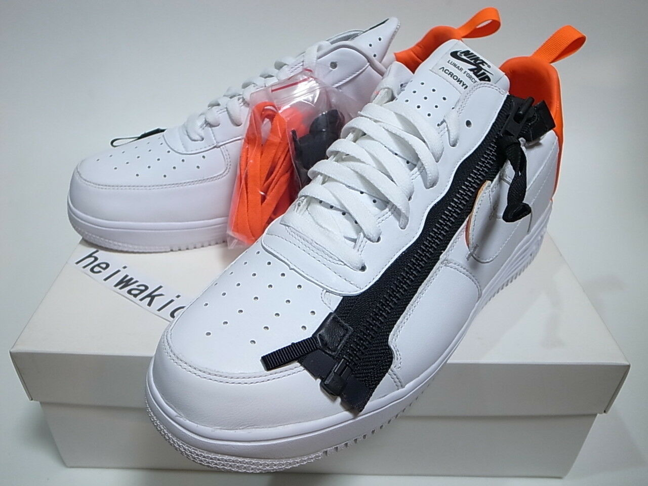 meet 7e37d e57ff Nike Lunar Force 1 SP Acronym White Bright Crimson Size 13 (698699 116) for  sale online  eBay