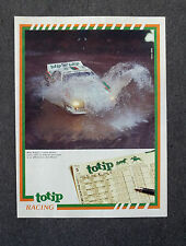 G067-Advertising Pubblicità-1984 - TOTIP RACING MICKY BIASION