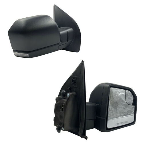 For 15-18 Ford F150 Power+Heated+LED Signal Side View Mirror RH Passenger Side