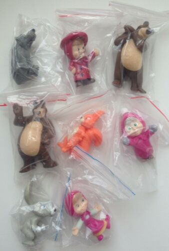 Kinder Surprise Masha and the Bear 2 TR157A TR162A-TR166A Series